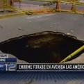 Chiclayo: enorme forado pone en riesgo a transeúntes
