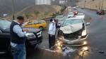 La Molina: accidente de tránsito en cerro Centinela ocasionó congestión - Noticias de juan carlos molina