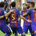 Barcelona venció 3-2 al Valencia con doblete de Messi