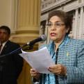 """Luz Salgado: """"Yo no he desairado, yo respeto al presidente"""""""
