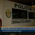 Comas: presuntos sicarios asesinan a 'Cholo Darwin' dentro de hospital
