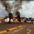 Puno: manifestantes de Juliaca acatan paro por 48 horas y bloquean vías