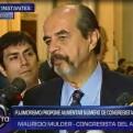 Mulder: Ausencia de Salgado en Consejo de Estado fue