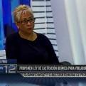 Promsex: Proyecto de castración química es una iniciativa poco reflexionada