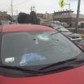 Barranco: roca cayó sobre auto en la Costa Verde