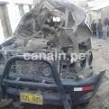 Ayacucho: vehículo fue atacado con explosivos en Paras