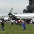 EE.UU.: avión se incendió en el Aeropuerto de Chicago