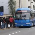 Usuarios en desacuerdo con incremento del pasaje del Corredor Azul