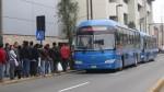 Usuarios en desacuerdo con incremento del pasaje del Corredor Azul - Noticias de corredor azul