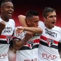 Christian Cueva anotó y dio tres asistencias en triunfo de Sao Paulo