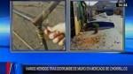 Chorrillos: al menos 7 personas heridas dejó derrumbe de muro en mercado - Noticias de hospital casimiro ulloa