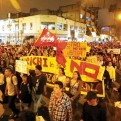 Estudiantes y PNP coordinaron medidas de seguridad para marcha contra el BCR