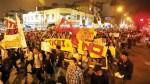 Estudiantes y PNP coordinaron medidas de seguridad para marcha contra el BCR - Noticias de onagi