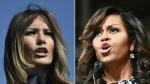 Melania Trump y Michelle Obama se conocen en la Casa Blanca - Noticias de michelle obama