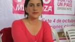 Agrupación política de Verónika Mendoza inicia recolección de firmas - Noticias de marisa glave