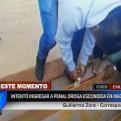Cusco: decomisan droga camuflada en tablones de madera