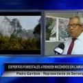 Incendios forestales: Sernanp pide a la población no realizar roza y quema