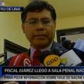 Juárez: Nadine Heredia no esperó respuesta de juez para salir del país