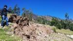 Cajamarca: advierten de riesgo por deslizamientos en cerro Llushcampampa - Noticias de manuel lago