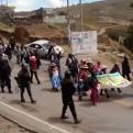 Juliaca: población realiza paro de 48 horas contra la inseguridad ciudadana