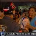 Rímac: pobladores agredieron a dos presuntos secuestradores detenidos