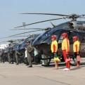 Policía Nacional presentó su nueva flota aérea