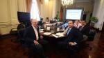 PPK y ministros muestran su apoyo a Saavedra por interpelación en Congreso - Noticias de juegos panamericanos lima