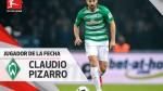 Claudio Pizarro fue elegido el mejor jugador de la fecha en Bundesliga - Noticias de hertha berlin
