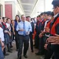 Saavedra visita Ayacucho para supervisar avances en Educación