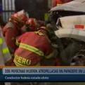Los Olivos: joven presuntamente ebrio atropelló y mató a dos personas