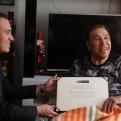 Salvador del Solar entregó reconocimiento al 'Gordo Casaretto'