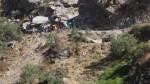 Vraem: dos policías heridos dejó la caída de un patrullero a un abismo - Noticias de pichari