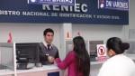 Año Nuevo: Reniec solo brindará servicio de entrega de DNI este viernes - Noticias de onagi