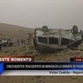 Ancón: 5 personas murieron en accidente y otras 2 quedaron heridas