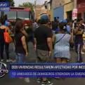 Barranco: incendio en una quinta afectó más de 10 viviendas