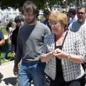 Michelle Bachelet visitó zona afectada por gigantesco incendio en Valparaíso