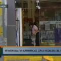Los Olivos: delincuentes robaron supermercado con la modalidad del 'combazo'