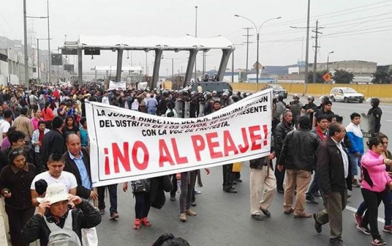 Marcha contra el peaje de Puente Piedra no tiene garantías, advierte Onagi | Actualidad