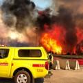 Chile: nuevo gran incendio forestal afecta Valparaíso