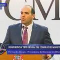 Zavala: De los 112 decretos que publicamos solo 35 requieren reglamentación