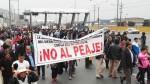 Marcha contra el peaje de Puente Piedra no tiene garantías, advierte Onagi - Noticias de onagi