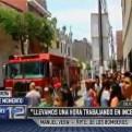Breña: incendio consume dos viviendas en jirón Iquique