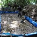 Cusco: poza de maceración de droga fue destruída en el sector de 'Agua Santa'