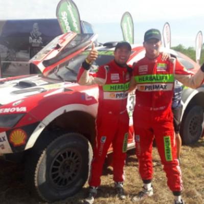Nicolás Fuchs finalizó su primer Rally Dakar en un histórico puesto 12