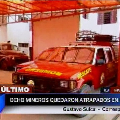 Arequipa: siete mineros continúan atrapados en socavón