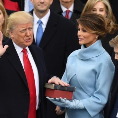 Donald Trump asumió la presidencia de Estados Unidos