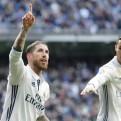 Real Madrid se recuperó y venció 2-1 a Málaga con doblete de Sergio Ramos