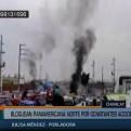 Chancay: vecinos bloquearon la Panamericana Norte exigiendo puentes peatonales