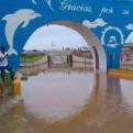 Cañete: balneario de Cerro Azul quedó inundado tras presencia de nuevo huaico