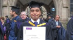 Peruano que se graduó con honores en Inglaterra enseñará en Chachapoyas - Noticias de anibal quiroja